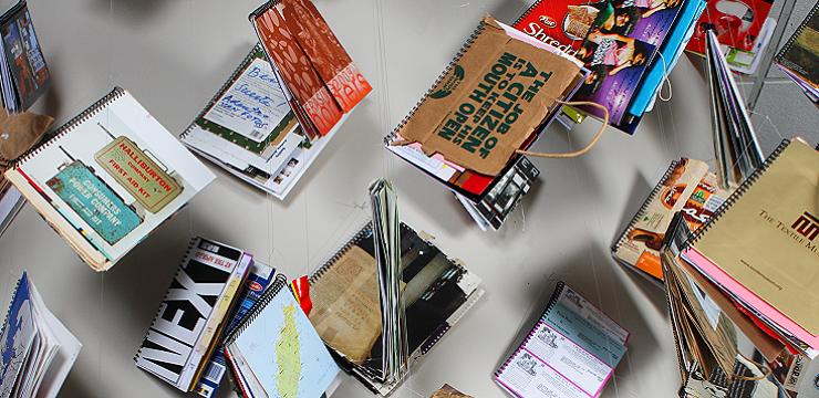 Visit Karen Guancione, Book Arts, Installations & Assemblages